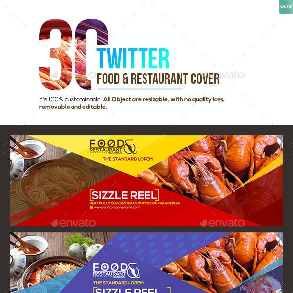 30 Twitter Food & Restaurant Cover