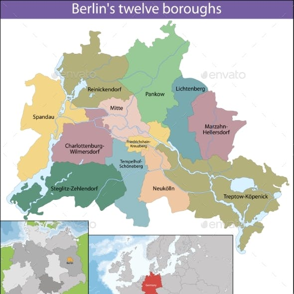 Map of Berlin