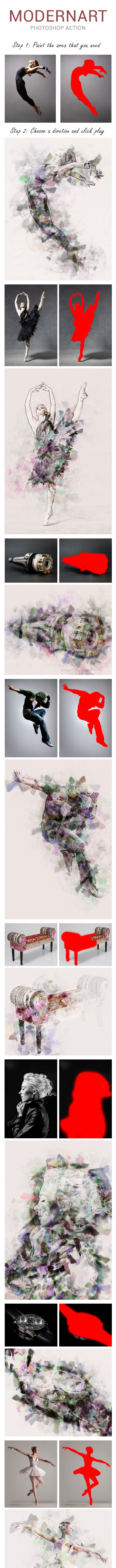 ModernArt-Action - Photo Effects Actions