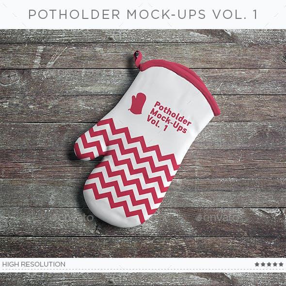 Potholder Mock-Ups Vol. 1