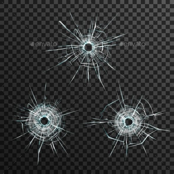 Bullet Holes Template