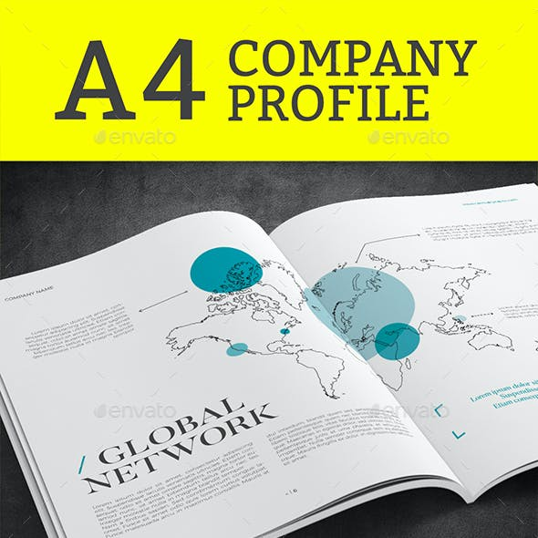 Company Profile - A4