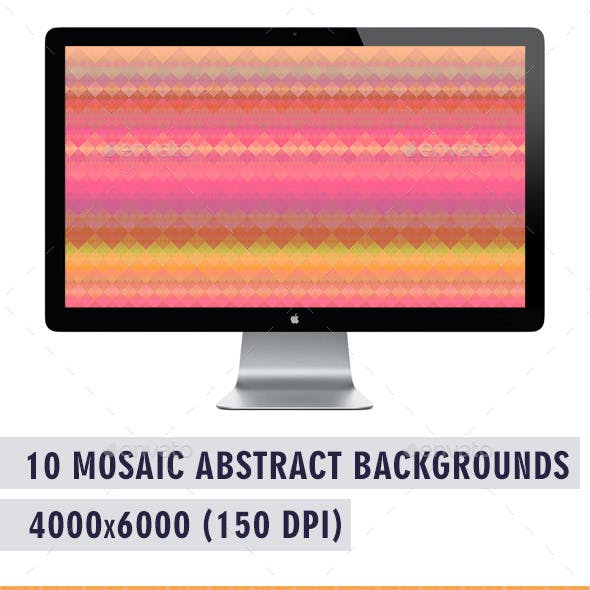 Mosaic Abstract Backgrounds