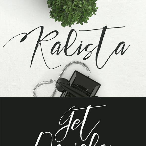 Kalista Typeface
