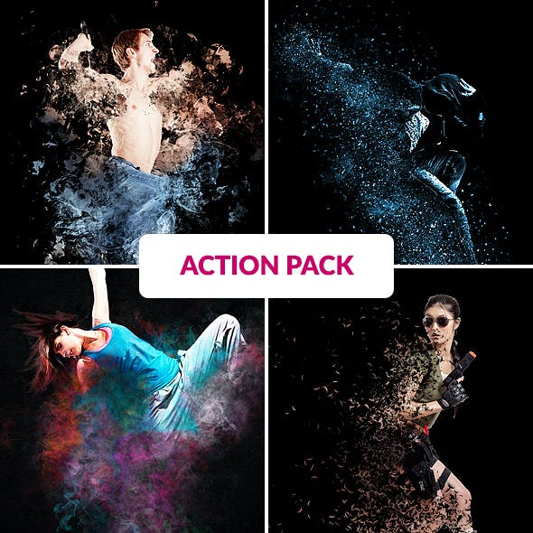 Manipulation Photoshop Action Bundle