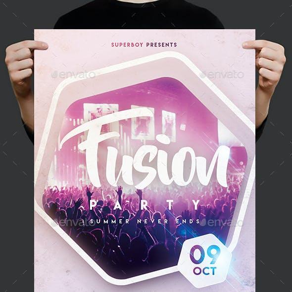 Music Fest Party Flyer