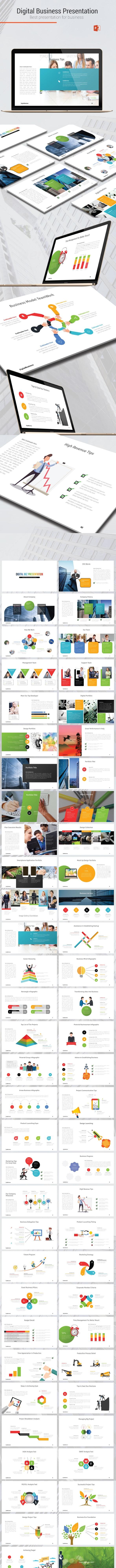 Digital Business Presentation - Business PowerPoint Templates