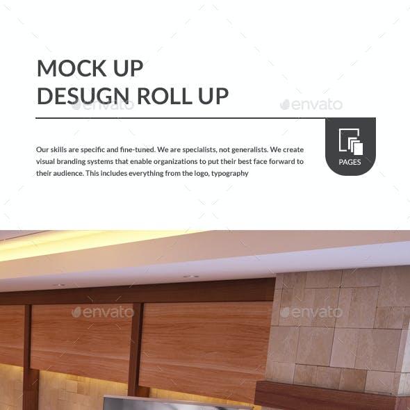 Roll Up - Mockup