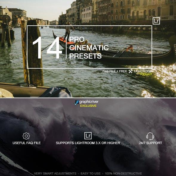 14 Pro Cinematic Presets