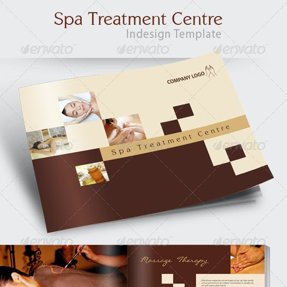 Spa Treatment Brochure Template
