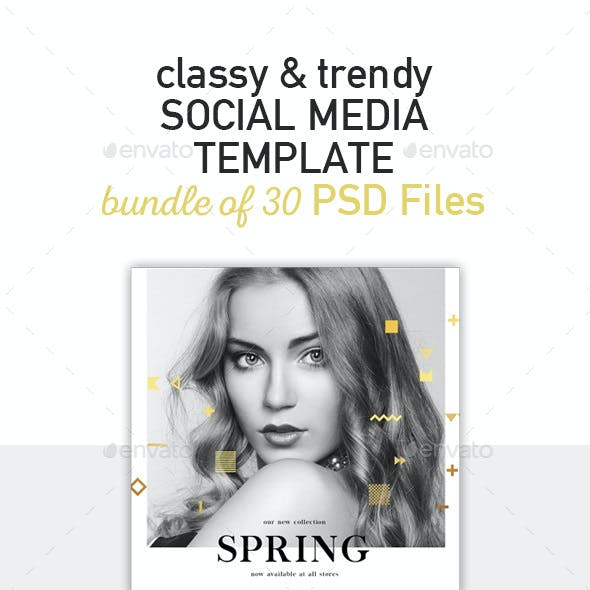 10 Instagram Templates with Classy, Trendy Style