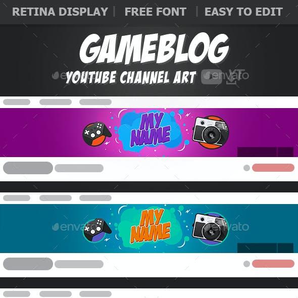 Gameblog YouTube Banners