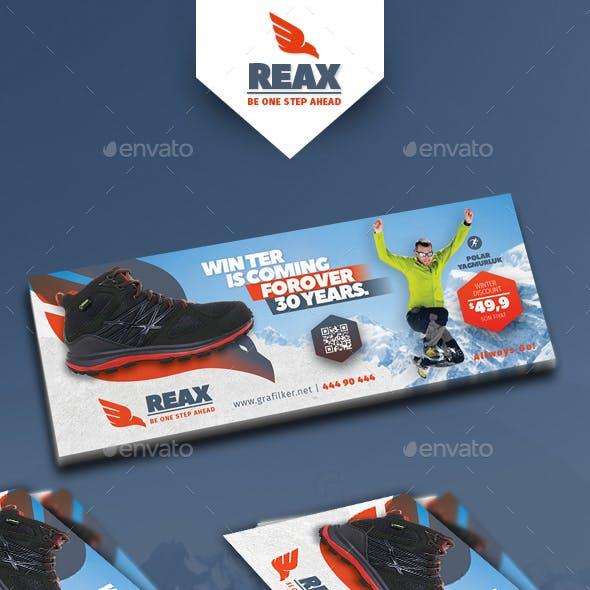Sport Shop Cover Templates