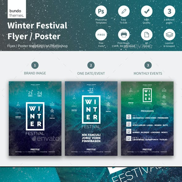 Winter Festival Flyer / Poster