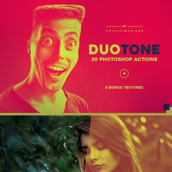 30 Duotone - Photoshop Actions