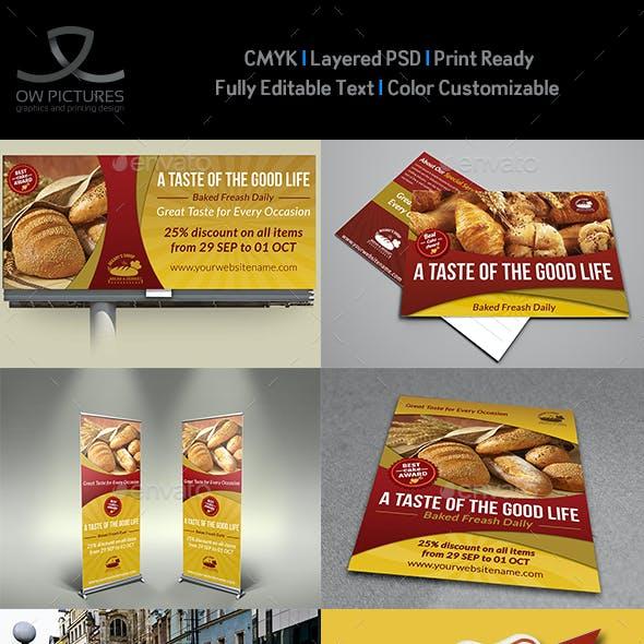 Bakery Advertising Bundle