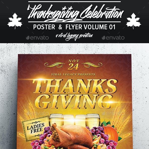 Thanksgiving Celebration V01