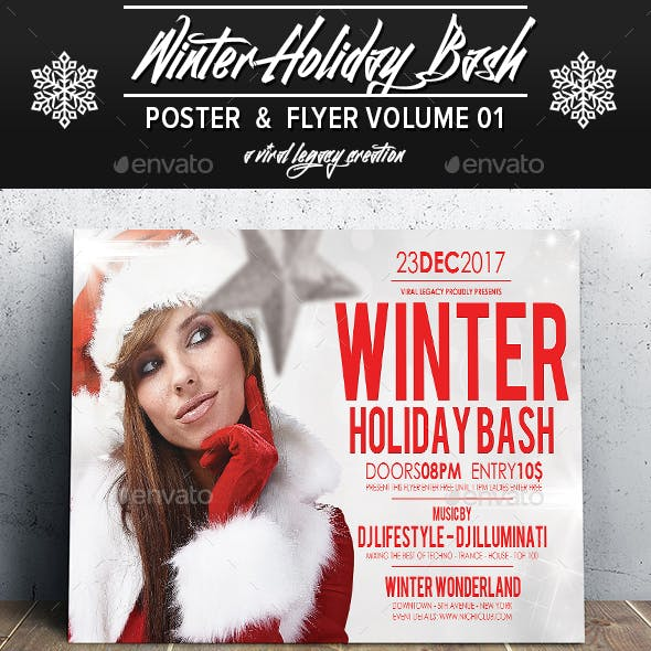 Winter Holiday Bash V01