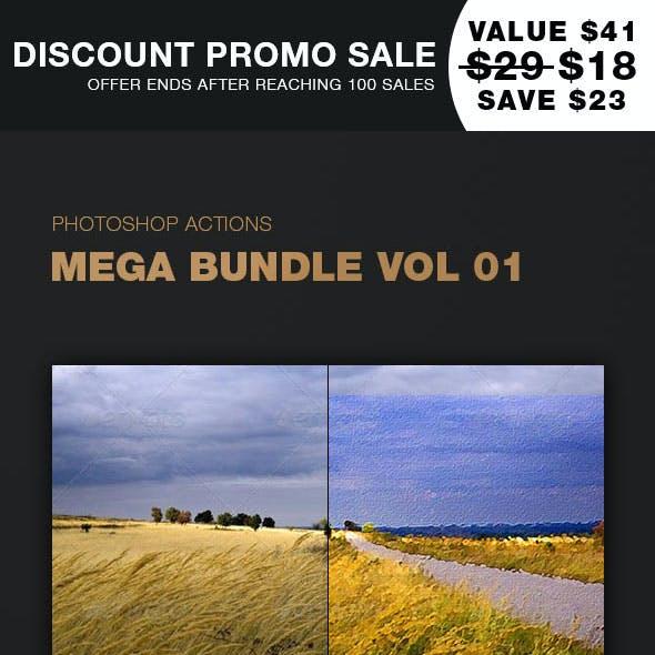 Photoshop Actions Mega Bundle Vol 1