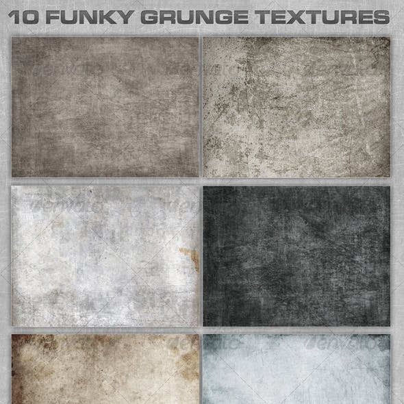 10 Funky Grunge Textures
