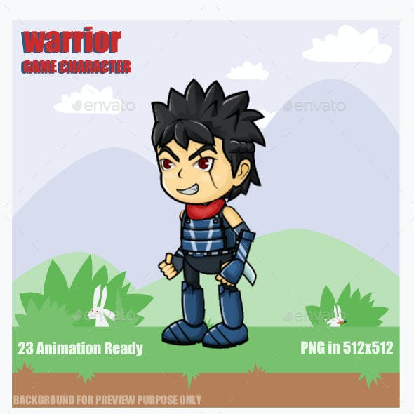 Warrior Sprite Character