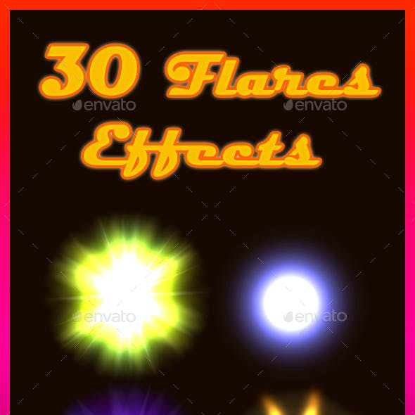 30 Flares Effects