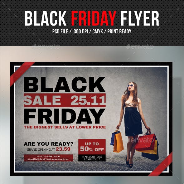 Black Friday Flyer V04