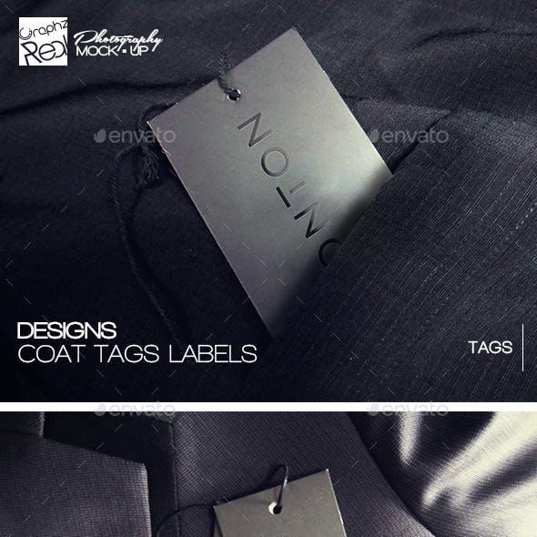 Mock-up: 010 (Coat Tags Labels)