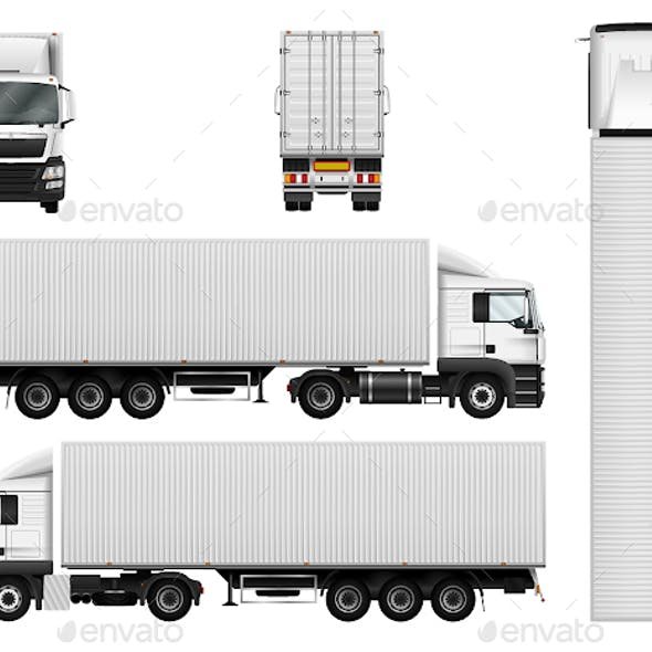 Truck with Container