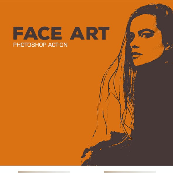 Face Art - Photoshop Action #20