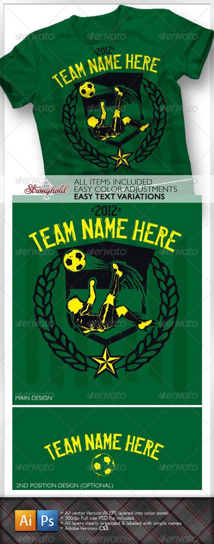 Soccer Team Kick Shirt - Sports & Teams T-Shirts