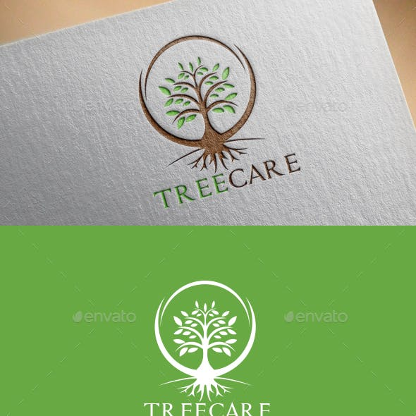 Tree Care Logo Template