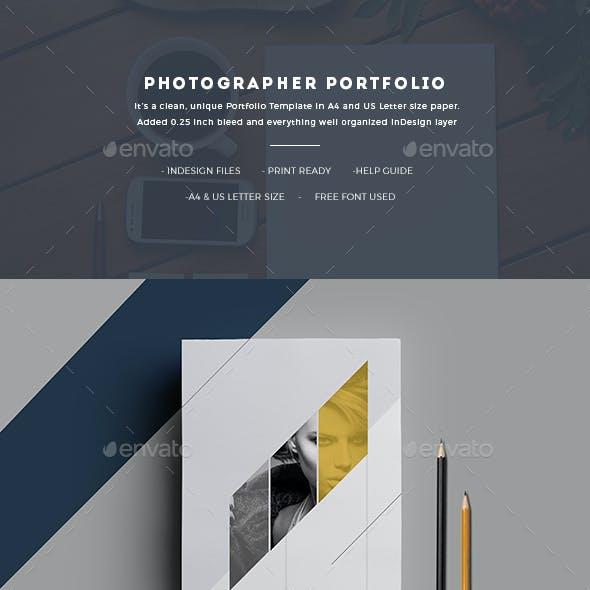 Photographer Portfolio