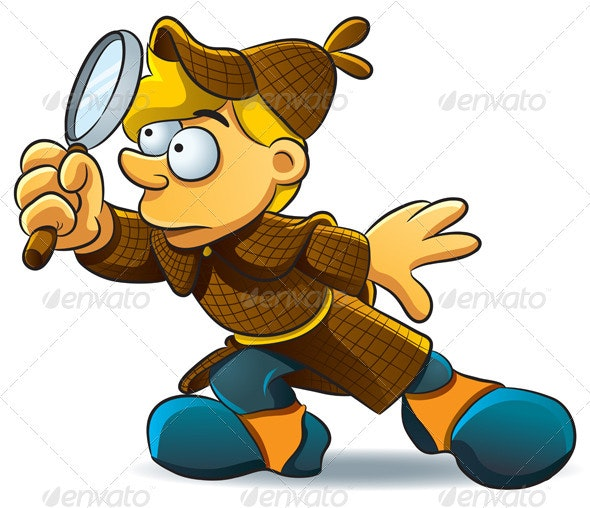Detective Investigate - People Characters