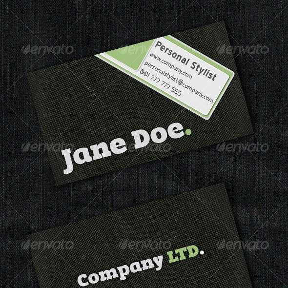 Stylists Business Card