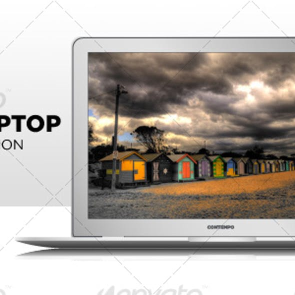 Sexy Slender Vector Laptop