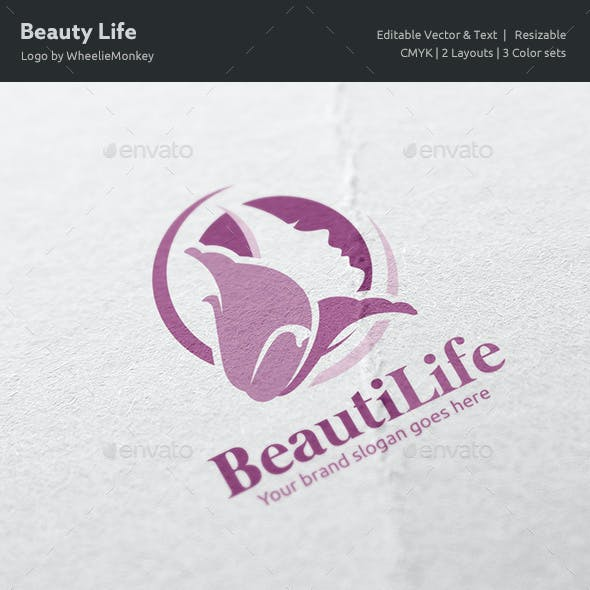 Beauty Life Logo