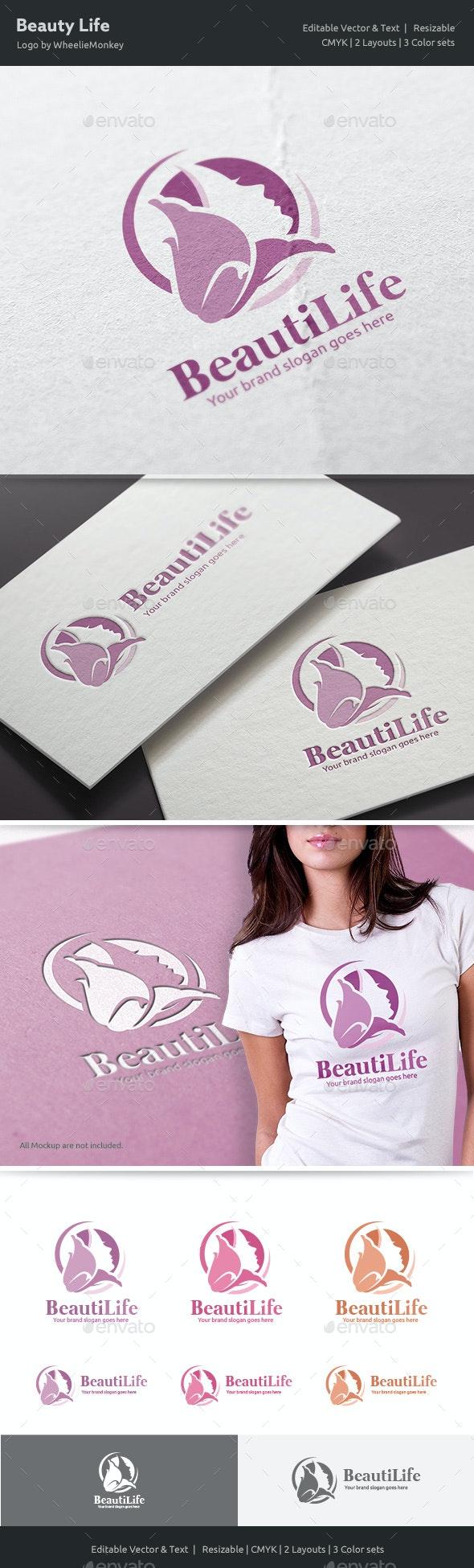 Beauty Life Logo - Vector Abstract