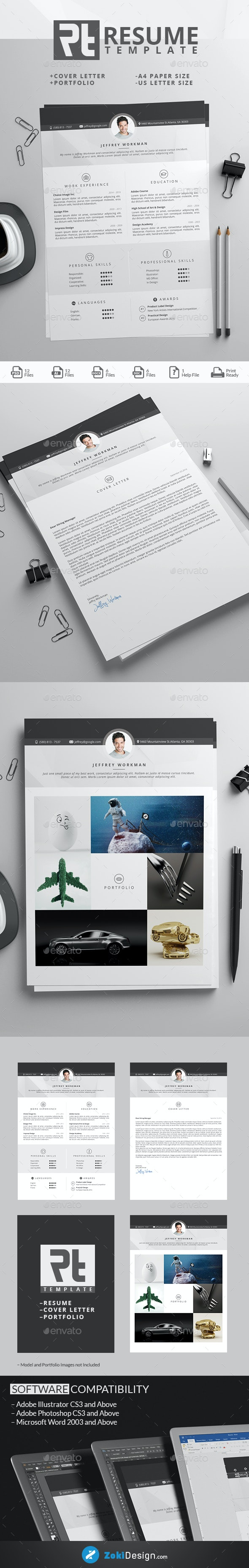 RT Resume Template - Resumes Stationery