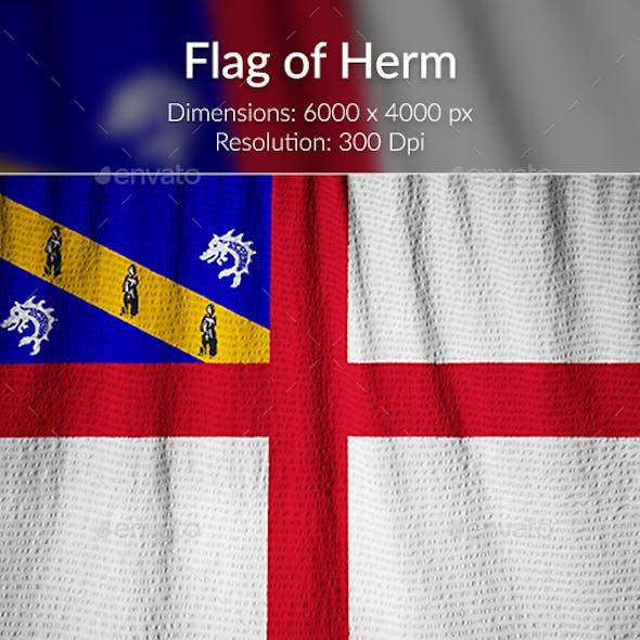 Ruffled Flag of Herm