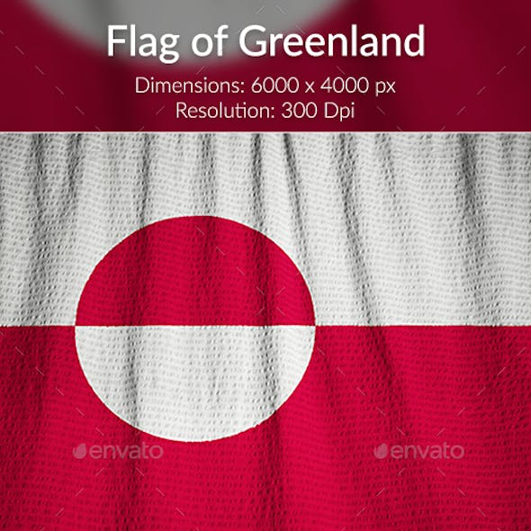 Ruffled Flag of Greenland