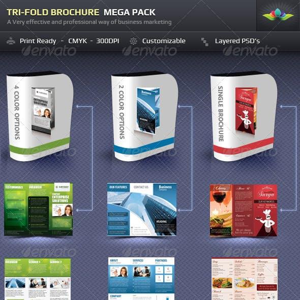 Tri-Fold Brochure Mega-Pack