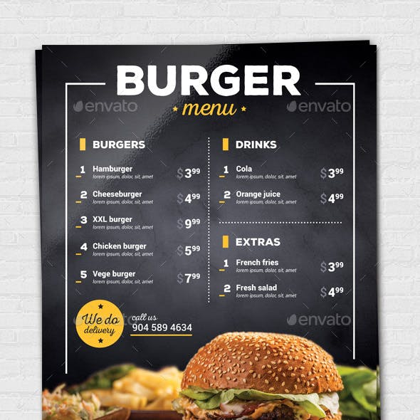 Burger / Pizza Flyer