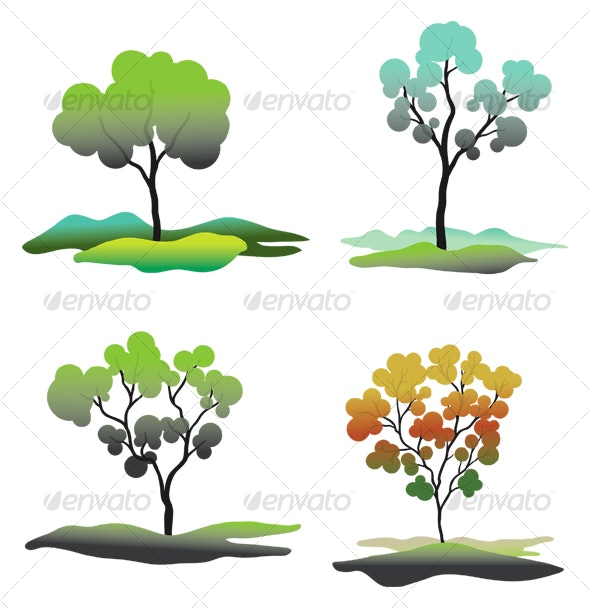 Trees C - Nature Conceptual