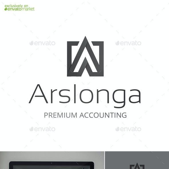 Arslonga Letter A Logo Template
