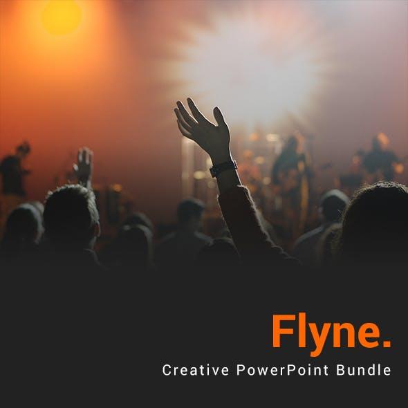 Flyne PowerPoint Template Bundle