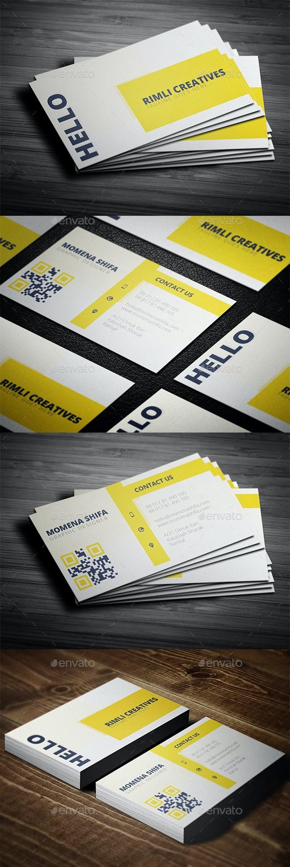 Sleek Business Card Design - Creative Business Cards