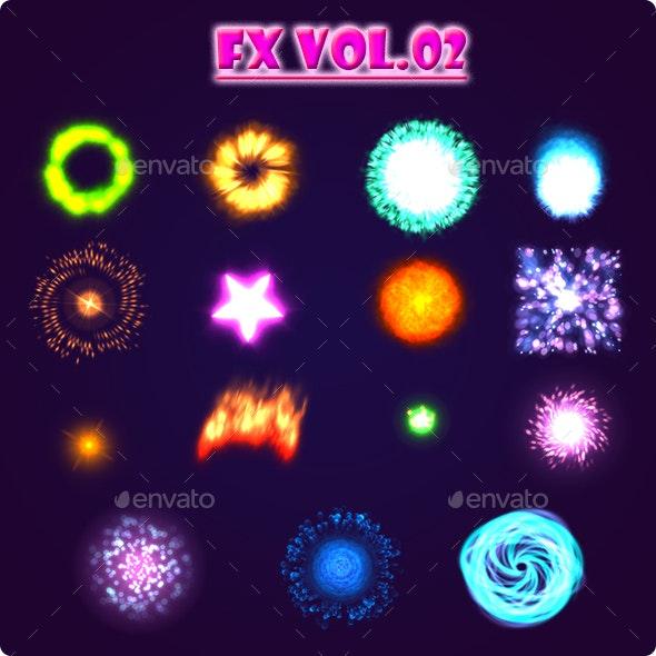 FX Vol.02 - Sprites Game Assets