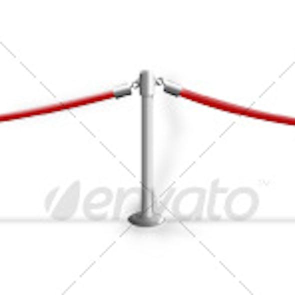 VIP Red Velvet Ropes
