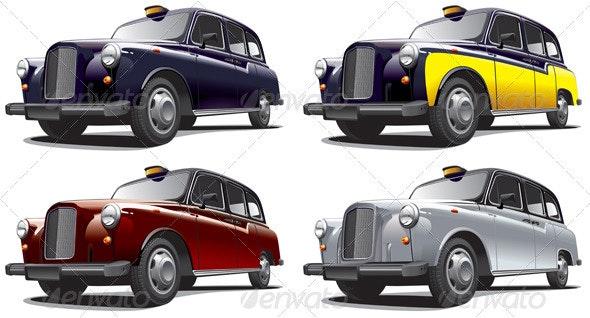 Classical Car No2 - Objects Vectors